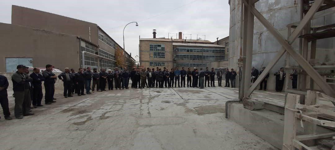 گزارش تصویری از راه اندازی کارخانه قند شرکت صنعتی و کشاورزی شیرین خراسان